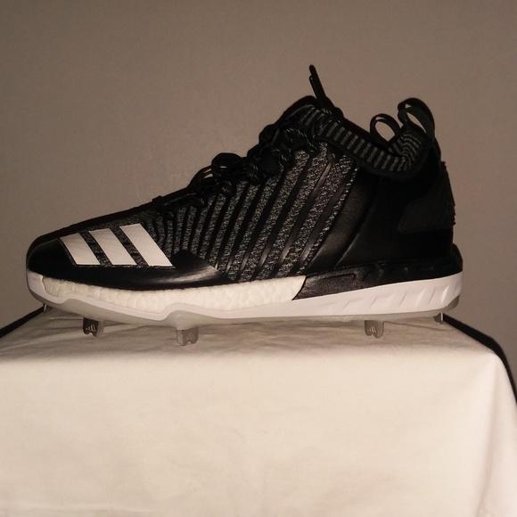 5f10cfebcda2 Adidas Shoes | Boost Icon 3 Metal Baseball Cleats Knit | Poshmark